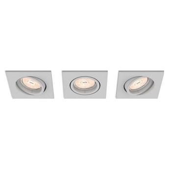 Philips 50193/87/PN - SET 3x Oświetlenie wpuszczane ENNEPER 3xGU10/5,5W/230V