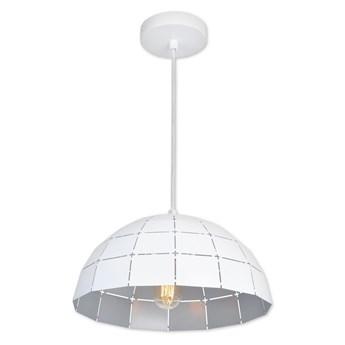 Top Light Apolo 30B - Żyrandol na sznurku 1xE27/40W/230V biały/srebrny