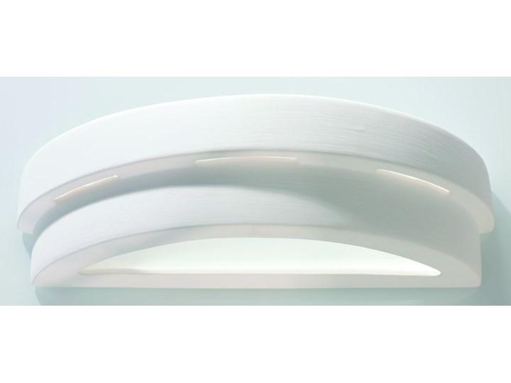 SOLLUX Efektowna lampa ścienna półokrągły kinkiet ceramiczny HELIOS Styl Nowoczesny Ceramika Kinkiet dekoracyjny Kinkiet łazienkowy Kinkiet LED Szkło Kategoria Lampy ścienne