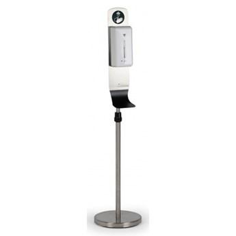 Regulowany na wysokość stojak na dozownik na środek dezynfekcji