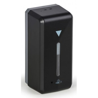Automatyczny dozownik na środek dezynfekcji, czarny