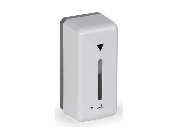 Automatyczny dozownik na środek dezynfekcji, biały Plastik Dozowniki Tworzywo sztuczne Kategoria Mydelniczki i dozowniki