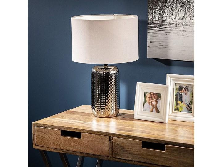 Lampa stołowa Iva 41,5cm, 41,5 cm Lampa z kloszem Styl Klasyczny Styl Nowoczesny