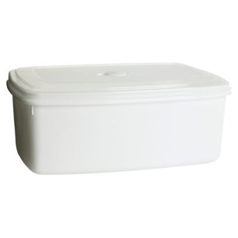 Pojemnik plastikowy PLAST TEAM Micro 15470800 5.1 L Biały