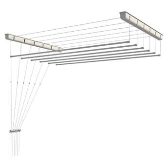Suszarka sufitowa 6-prętowa Sepio 52,3 x 200 cm