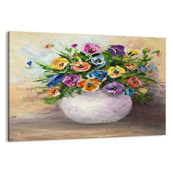 Obraz na płótnie - Martwa natura z białym wazonem