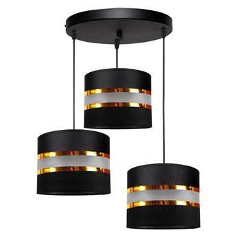 Żyrandol na lince CORAL 3xE27/60W/230V czarny