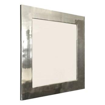 Lustro metalowe 52x52 cm