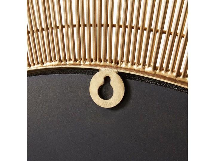 Lustro wiszące Plax ∅80 cm mosiężne Lustro z ramą Okrągłe Ścienne Pomieszczenie Salon Kategoria Lustra