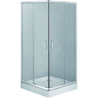Deante Funkia Kabina kwadratowa 90 cm, szkło transparentne