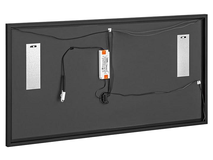 Podwieszane prostokątne lustro łazienkowe - Tauro 2S Ścienne Lustro z ramą Kategoria Lustra