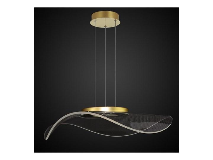 Lampa wisząca VELO No. 1 złota LA101/P1_gold ALTAVOLA DESIGN LA101/P1_gold Lampa z abażurem Lampa LED Szkło Tworzywo sztuczne Kategoria Lampy wiszące