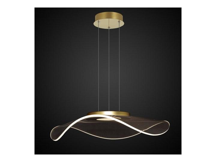 Lampa wisząca VELO No. 1 złota LA101/P1_gold ALTAVOLA DESIGN LA101/P1_gold Lampa LED Tworzywo sztuczne Lampa z abażurem Szkło Kategoria Lampy wiszące