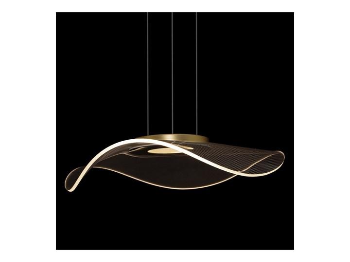Lampa wisząca VELO No. 1 złota LA101/P1_gold ALTAVOLA DESIGN LA101/P1_gold Kolor Złoty Tworzywo sztuczne Lampa LED Szkło Lampa z abażurem Kategoria Lampy wiszące