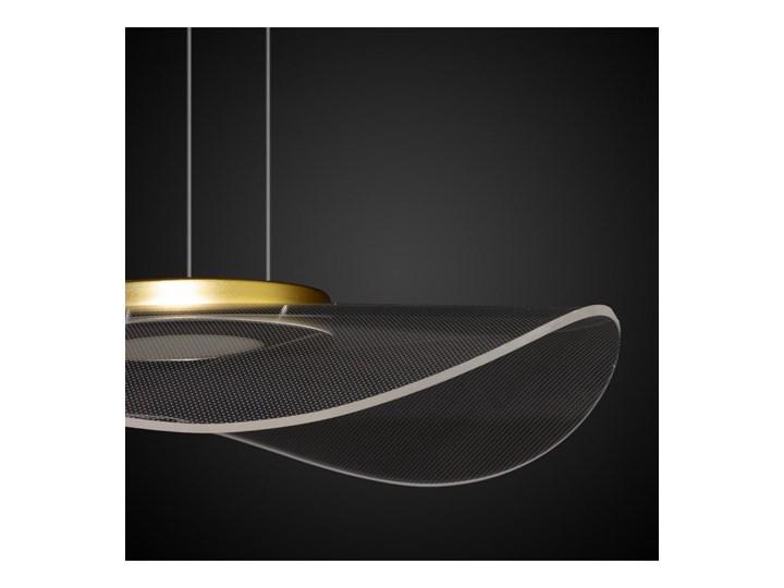 Lampa wisząca VELO No. 1 złota LA101/P1_gold ALTAVOLA DESIGN LA101/P1_gold Szkło Tworzywo sztuczne Styl Nowoczesny Lampa LED Lampa z abażurem Kategoria Lampy wiszące