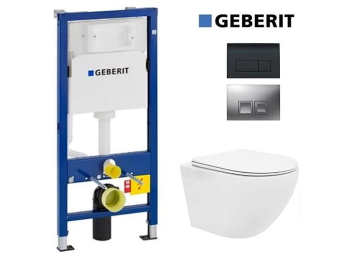 GEBERIT + PRZYCISK + MATA + MISA WC RIMLESS DO WYBORU Kategoria Zestawy podtynkowe WC