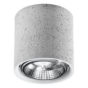 Okrągły loftowy plafon z betonu - EX578-Culli