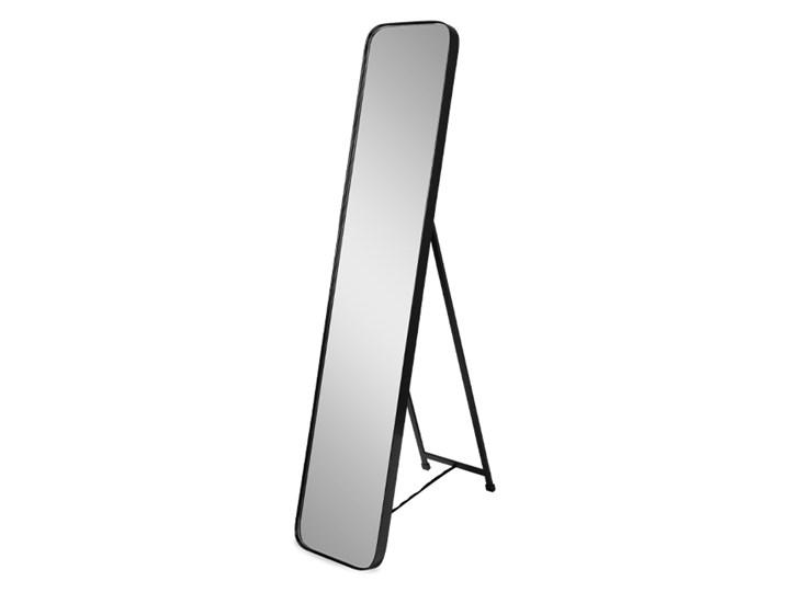 Lustro stojące w czarnej ramie 151 x 31 x 4 cm 16F-575 outlet