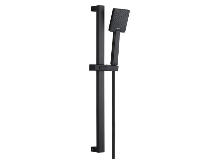 ZESTAW NATRYSKOWY PATRAS BLACK 1-FUNK, INVENA TREND Wyposażenie Z baterią Kolor Czarny