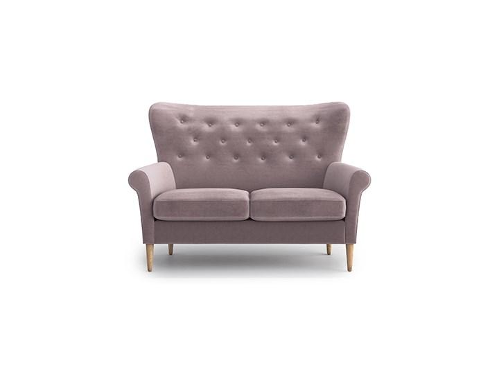 Sofa Amelie 2-osobowa, Powder Pink Materiał obicia Tkanina