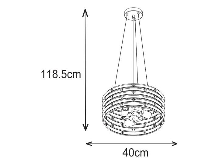 Krzyształowa lampa wisząca Coro Kryształ Lampa z kloszem Lampa z kryształkami Stal Metal Styl Glamour