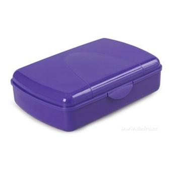 LUNCH BOX,, niebieski 29,5x19x8,5 cm