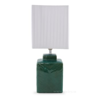 CUBE lampa stołowa 42 cm, miętowa
