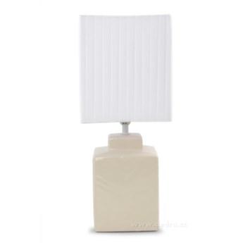 CUBE lampa stołowa 42 cm, kremowa