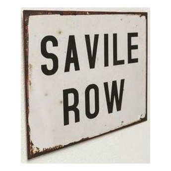 Dekoracja ścienna London Savile Row 35x23 cm