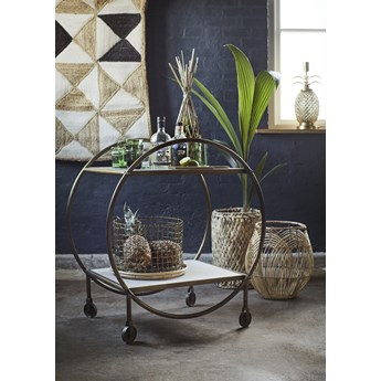 Doniczka Bamboo Basket ∅12x48 cm naturalna
