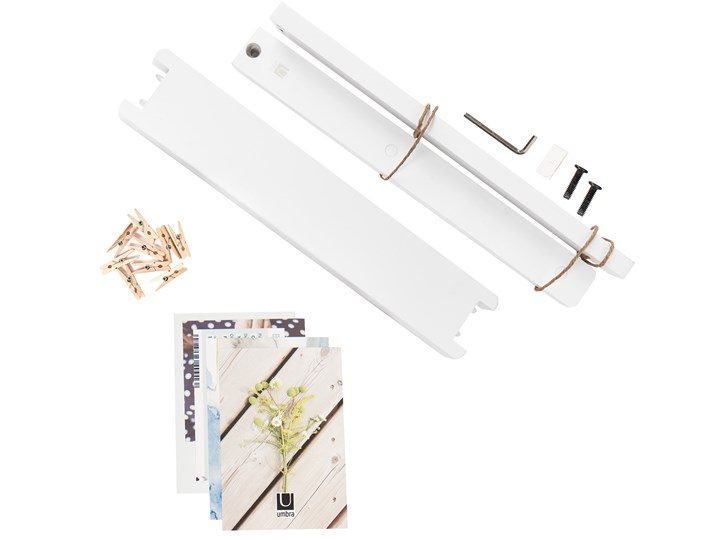Ekspozytor na zdjęcia Hangit 34x33 cm biały Stojak na zdjęcia Kategoria Ramy i ramki na zdjęcia
