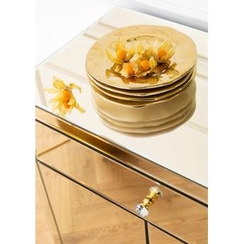 Komoda Luxury Gold 71x76 cm szampańska