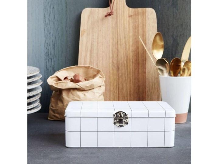 Lunch box Graph 7x20 cm biały Na lunch Kategoria Pojemniki i puszki