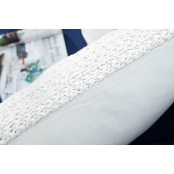 Poduszka dekoracyjna Kissen Cosy III 45 cm biała