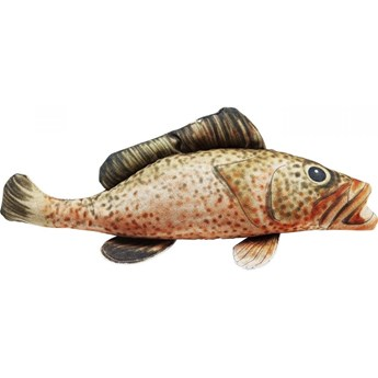 Poduszka dekoracyjna Shape Fish Dots 47x25 cm