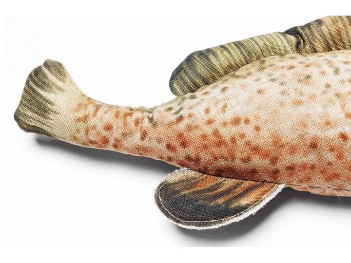 Poduszka dekoracyjna Shape Fish Dots 47x25 cm Nieregularne Pomieszczenie Pokój przedszkolaka 25x47 cm Kolor Beżowy