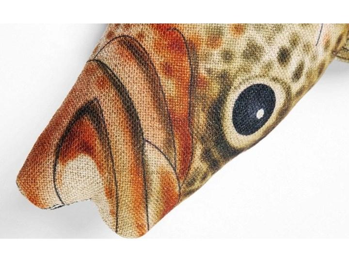 Poduszka dekoracyjna Shape Fish Dots 47x25 cm Nieregularne 25x47 cm Kategoria Poduszki i poszewki dekoracyjne