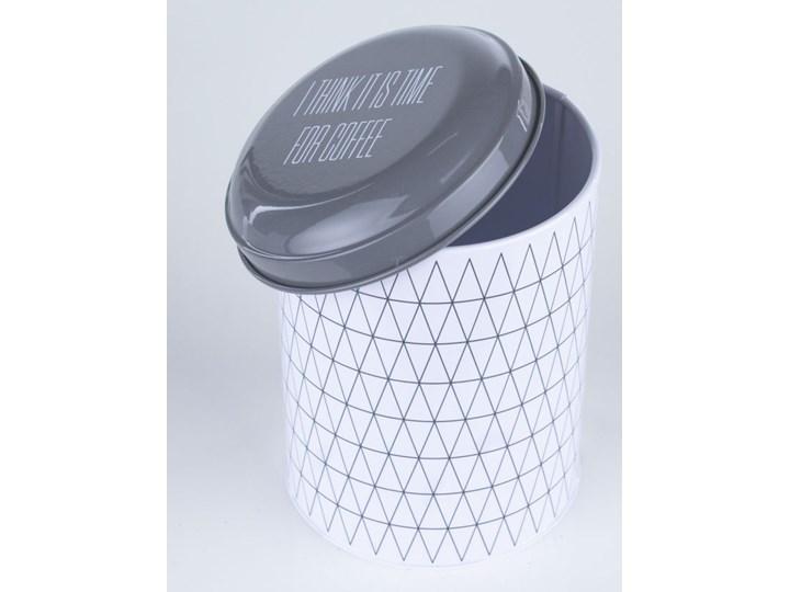 Pojemnik na kawę Triangle Ø11x16 cm Kategoria Pojemniki i puszki Stal Na herbatę Typ Pojemniki