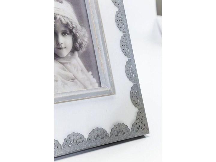 Ramka Vintage Lace 21x28 cm biało-szara Kategoria Ramy i ramki na zdjęcia
