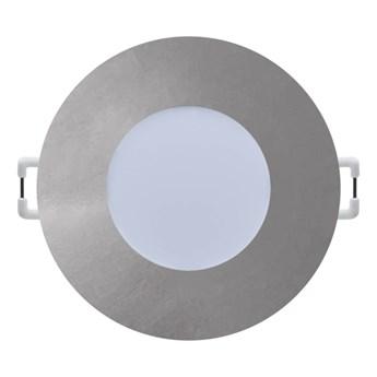 Oczko LED 345 lm 2700 K 8 cm srebrne