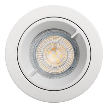 Oczko LED GoodHome Caius GU10 345 lm 4000 K IP44 białe 3 szt.