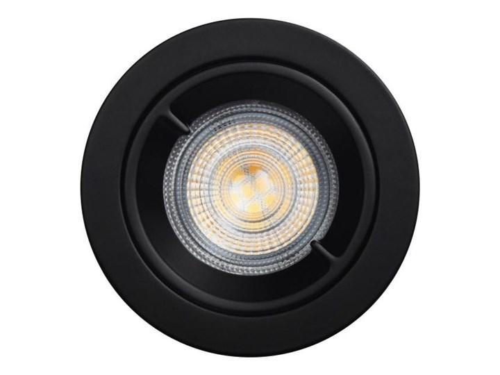 Oczko LED GoodHome Caius GU10 345 lm 4000 K IP44 czarne 3 szt.