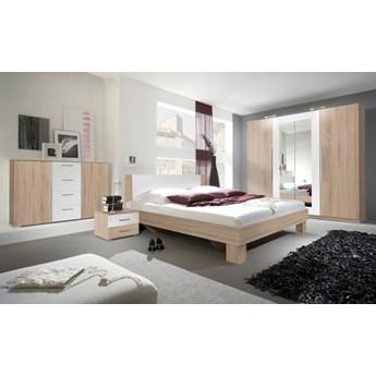 Sypialnia VERA 1 dąb sonoma jasny / biały
