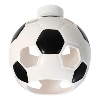 SOLLUX Nowoczesny Dziecięcy Plafon PIŁKA Biało Czarna Lampa Sufitowa do pokoju dziecięcego Atrakcyjna Oprawa Ceramiczna Żarówka E27 Oświetlenie LED