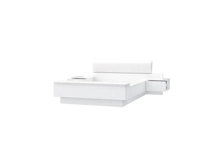Salony Agata  Komplet GLOSSY, łóżko + 2 szafki nocne Kategoria Zestawy mebli do sypialni