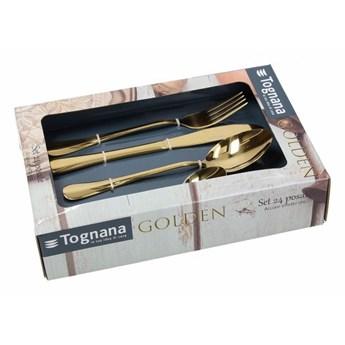 Komplet sztućców Tognana Golden 24 elem.