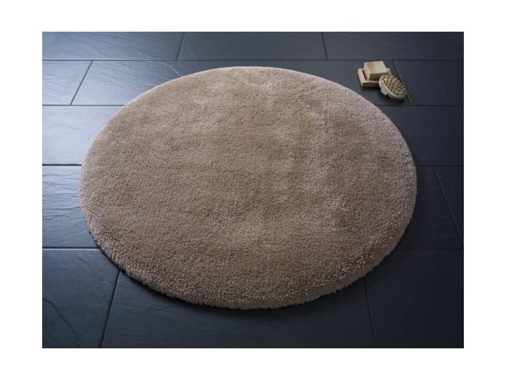 Brązowy okrągły dywanik łazienkowyConfetti Bathmats Miami, ⌀ 100 cm Kategoria Dywaniki łazienkowe