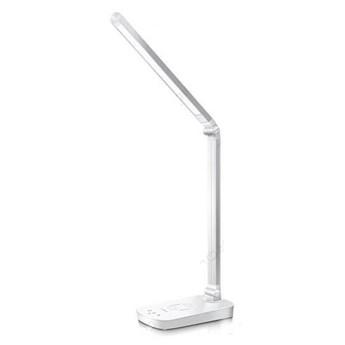 Lampa biurkowa LED LIGHT11 5W biała z ładowarką indukcyjną