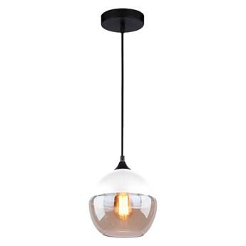 Lampa dymione szkło 20x19 cm ALTAVOLA DESIGN Manhattan Chic biała kod: 5902249032987