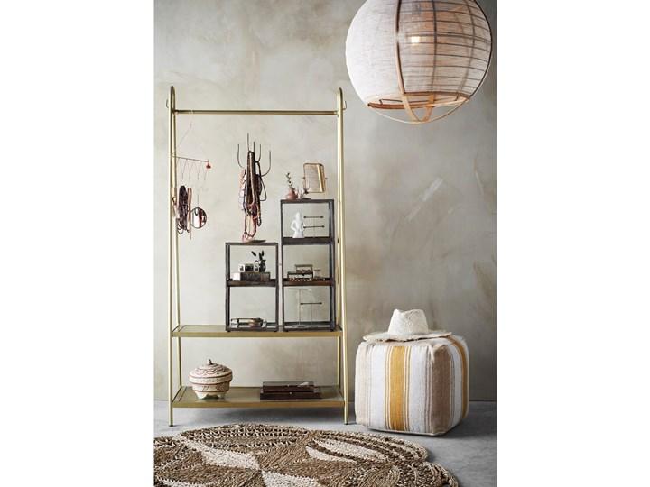 LAMPA WISZĄCA Z LNU U BAMBUSA CIRCLE MADAM STOLTZ Tkanina Drewno Kategoria Lampy wiszące